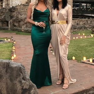 53ae9d01a8c78 Hello Molly Dresses - Test of time maxi dress green hello Molly
